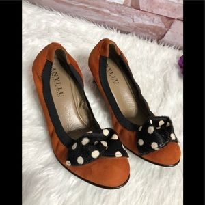 Any lu Rosie leather stretch shoes size 37 1/2